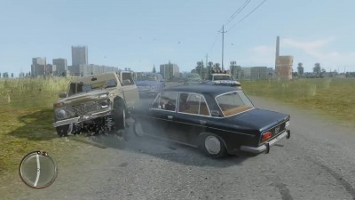 "Grand Theft Auto 4 ""Criminal Russia (Модификация)"""