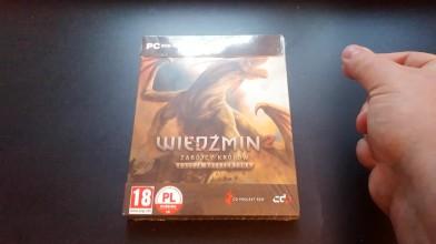 The Witcher 2 10th Anniversary: распаковка коллекционного издания Steelbook (Cycu1)