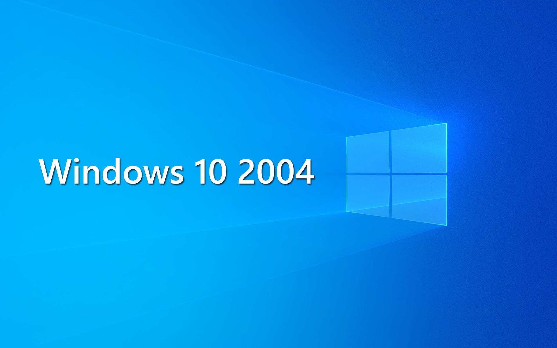 Теперь вы можете выполнить чистую установку Windows 10 версии 2004 - официально доступны файлы ISO