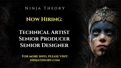 Ninja Theory разместила вакансии дизайнера, художника и продюсера