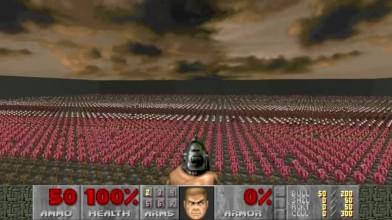 """Doom - игровой процесс мода """"Nuts"""""""
