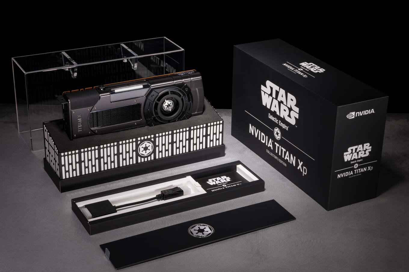 Nvidia выпустила видеокарты Titan Xp Collector's Edition для фанатов  Star Wars