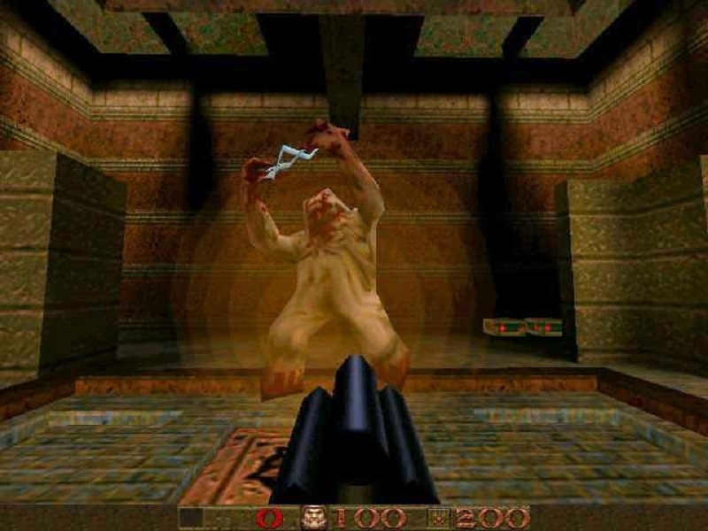 Quake в OpenGL на Voodoo Graphics