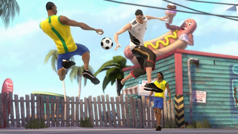 Аркадный спорт выпускался под брендом EA Sports BIG