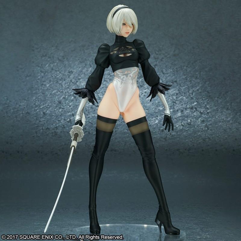 Square Enix анонсировала фигурку 2B из NieR: Automata