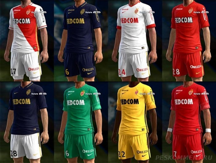 Форма AS Monaco GDB 15-16