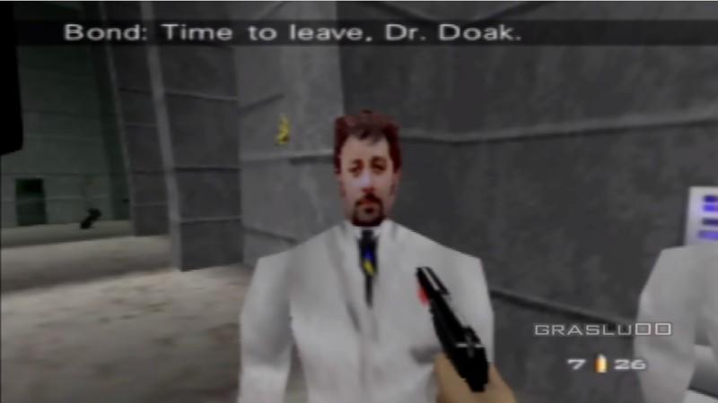 Так Доктор Доак выглядел в оригинальной версии игры для Nintendo 64