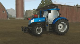 Трактор New Holland T7_1