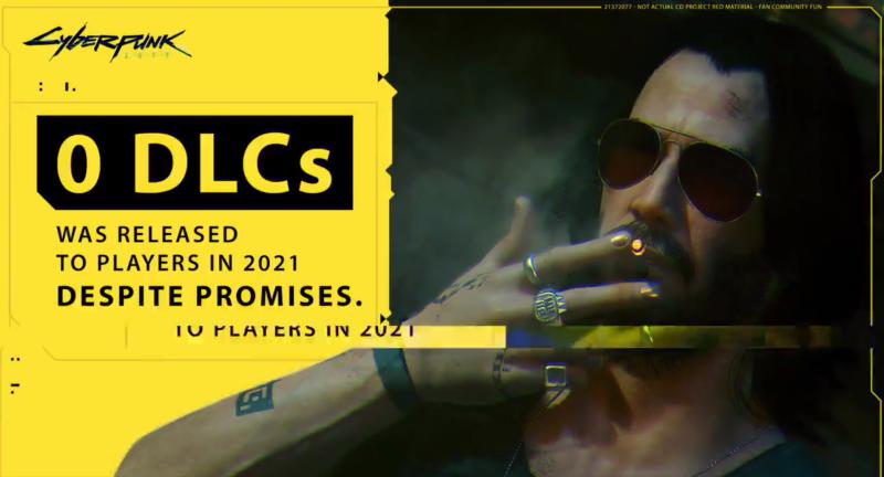 0 DLC было выпущено для игроков в 2021 году, несмотря на обещания