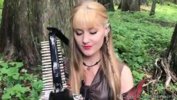 The DRAGONBORN COMES (Skyrim / Oblivion) - Harp Twins, Camille and Kennerly