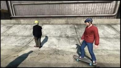 Забавные баги в Skate 3(1)