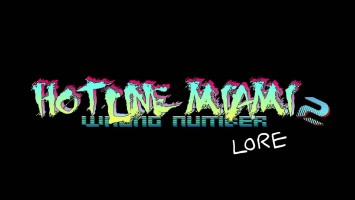 Hotline Miami 2 LORE! (Русский Дубляж)
