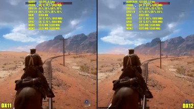 Battlefield 1 DX12 Vs DX1 - GTX 1080 TI SLI 4K