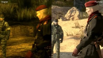 Metal Gear Solid 3 Pachinko vs PS3 Original