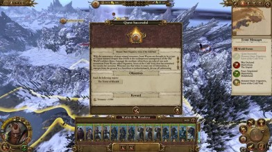 Геймплей Total War: Warhammer - Ульфрик, охота на монстров