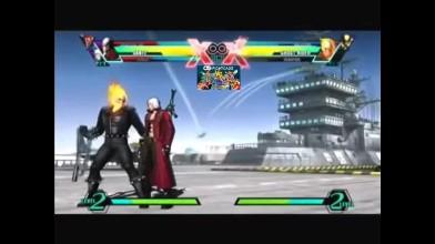 Все комбо Данте в Ultimate Marvel vs Capcom 3