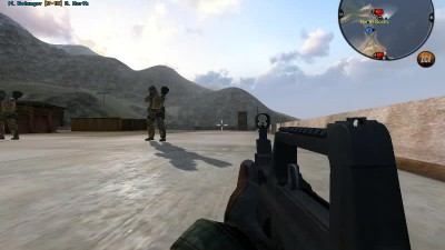 Reservoir bots in BattleField 2