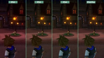 Kingdom Hearts - PS2 vs. PS3 vs. PS4 vs. PS4 Pro 4K UHD Graphics Comparison