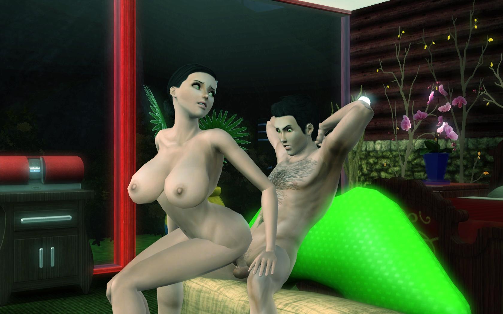 Симсы Занимаются Сексем