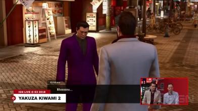 Новый ролик игрового процесса Yakuza Kiwami 2