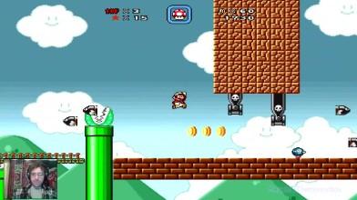 Super Mario Bros. X (v. 1.3) - 5 уровень - Тушка и пушки (прохождение на русском)