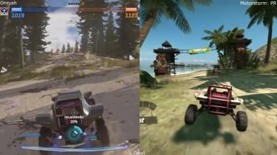 Сравнение - Onrush Open Beta vs Motorstorm Pacific Rift