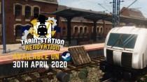 Трейлер с датой релиза Train Station Renovation
