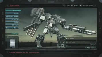 "Armored Core 5 ""Трейлер кастомизации"""