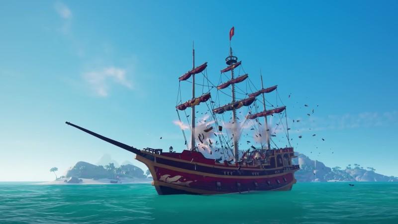 В Sea of Thieves появится новая система повреждения кораблей
