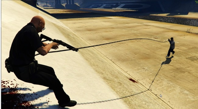 "GTA 5 ""Just Cause 2 Grappling hook mod [Крюк из Just Cause 2 в GTA 5]"""