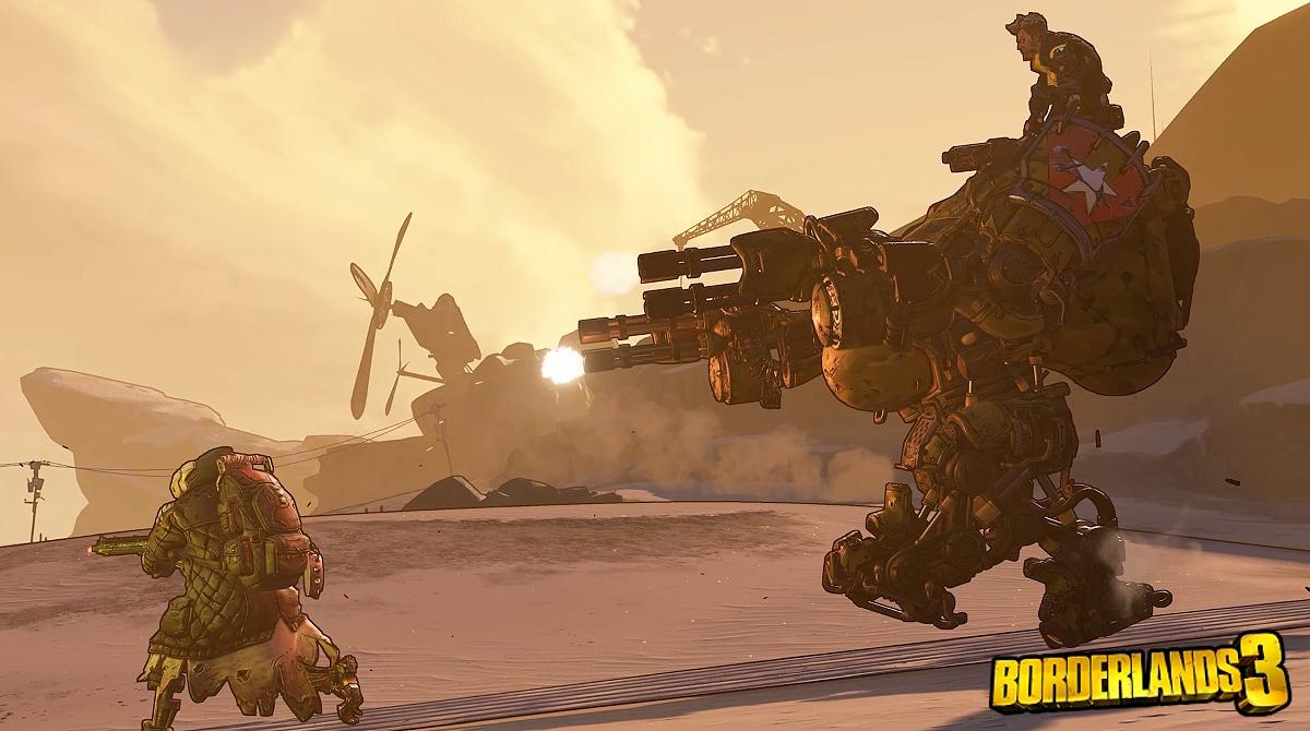 В Borderlands 3 с противника будет выпадать та пушка, которую он использовал