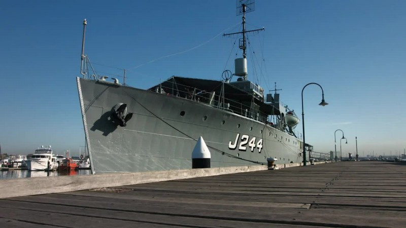 World of Warships - Морские Легенды: HMAS Castlemaine. Трейлер