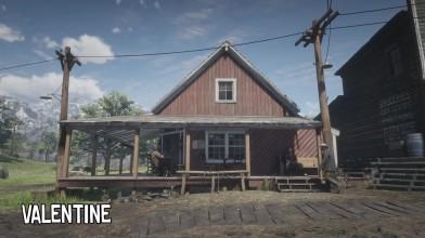 Red Dead Redemption 2 - Изменение локаций с течением времени