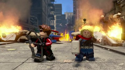 LEGO Marvel's Avengers Team-Up трейлер | PS4