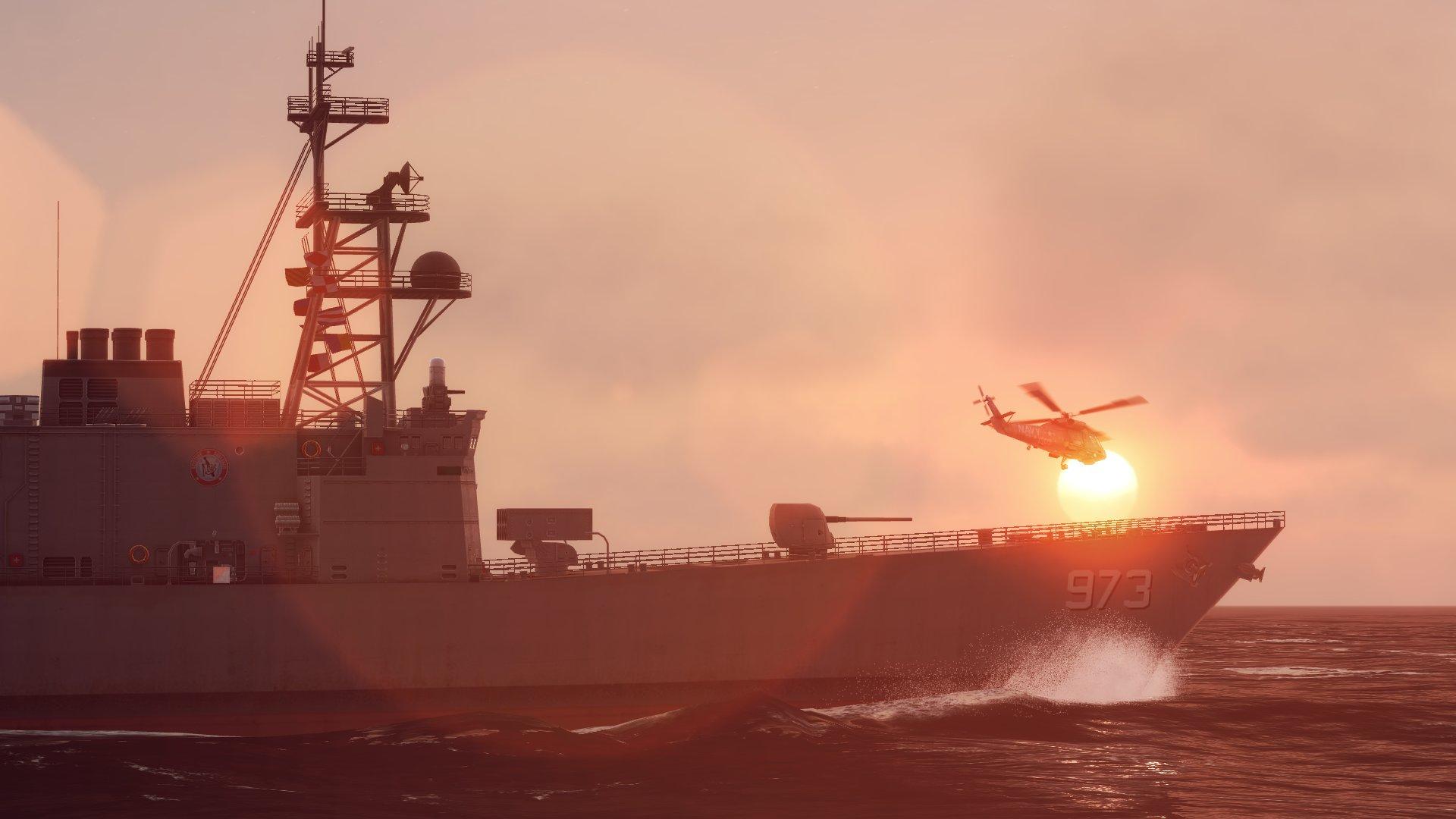 Новая порция скриншотов Sea Power: Naval Combat и Task Force Admiral