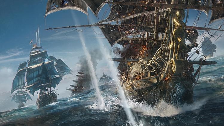 E3 2017: Ubisoft работает над мультиплеерным пиратским экшеном Skull & Bones