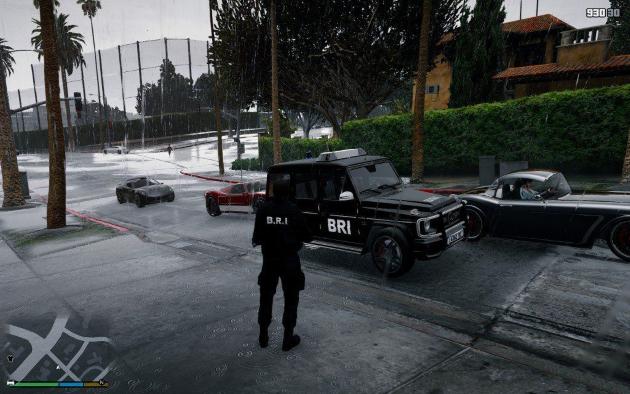 Mercedes Benz bri Police v1