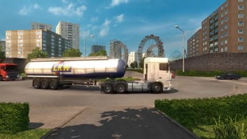 "ETS 2 ""Hard Truck Map (DPMap) v0.5"""