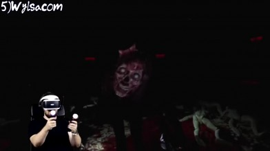 """Реакции Летсплейщиков"""" на Кровавого Монстра из Until Dawn: Rush of Blood"""