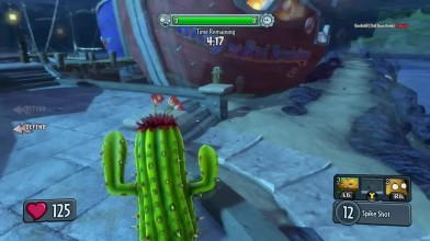 Пасхалки Plants vs Zombies_ Garden Warfare - СЛЕНДЕР! [Easter Eggs]