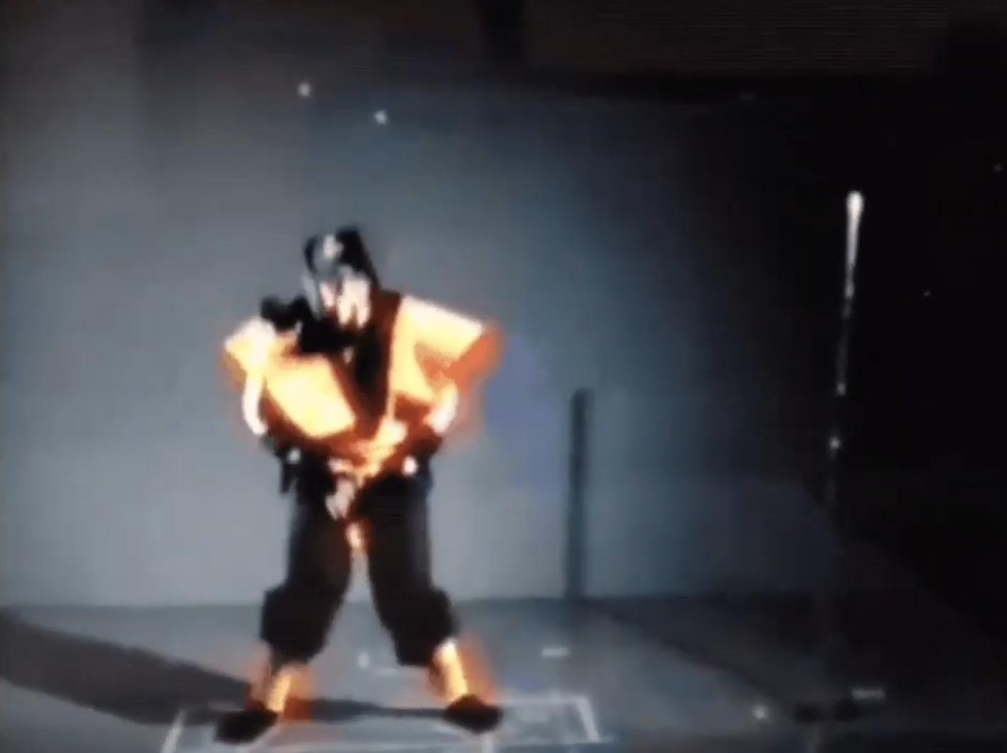 Как происходила съемка анимаций для первого Mortal Kombat - без гринскрина, разумеется