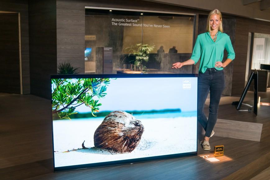 IFA 2017: наибольший OLED телевизор Bravia от Сони
