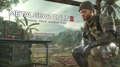 Демонстрация Metal Gear Online