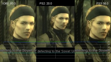 Metal Gear Solid 3: Snake Eater - PS2 vs PS3 vs Xbox 360 (Frame-Rate Tests)
