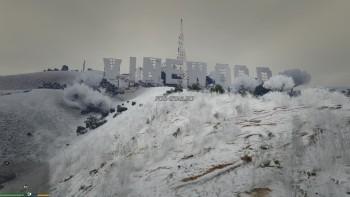 Снег в игре