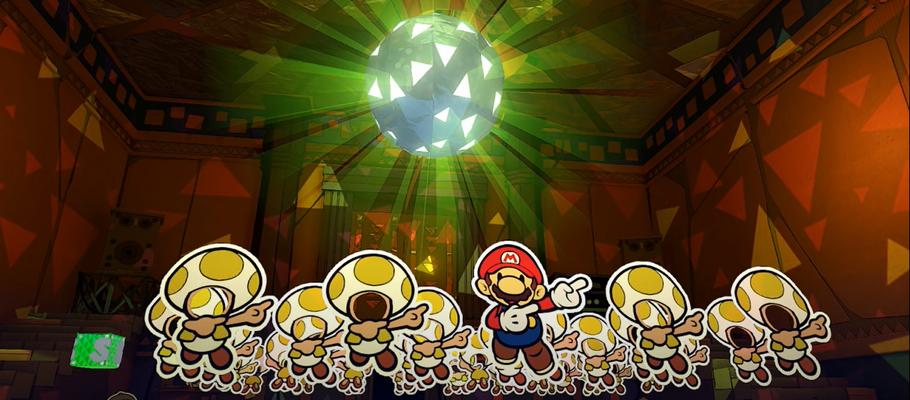 Видео с музыкальной темой Кафе из Paper Mario: The Origami King