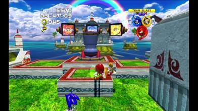 За гранью зримого Sonic Heroes...