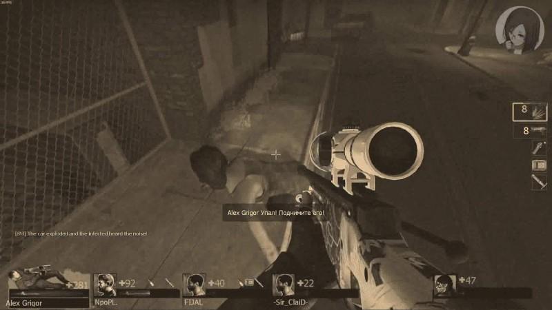 Left 4 Dead 2 - 1 сентября и осенний переполох... (M60 Massacre & RPG-Nightwolf)