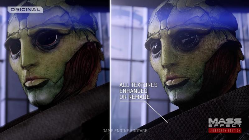Сравнение графики Mass Effect: Legendary Edition и оригинальной трилогии