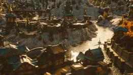Как может выглядеть город современного World of Warcraft с высоты птичьего полёта